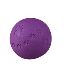 Trixie kamuoliukas iš kaučiuko su pėdutėmis 7.5 cm