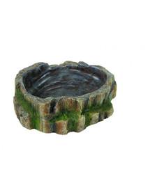 Trixie roplių vandens ir maisto dubenėlis 18.5 X 4.5 X 17 cm