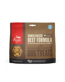 ORIJEN Dog treats Ranch-raised beef skanėstai su jautiena šunims 42,5 g