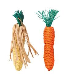 Trixie kramtalai morka ir kukurūzas iš sizalo virvės 6192