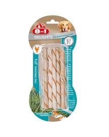 8In1 skanėstas Delights Pro Dental Twisted Sticks 10 vnt