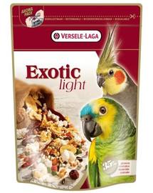 Versele-Laga Exotic Light 750 g maistas vidutinėms ir didelioms papūgoms