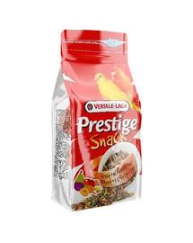 Versele-Laga Prestige Snack Canaries 125 g - skanėstas su sausainiais ir vaisiais kanarėlėms