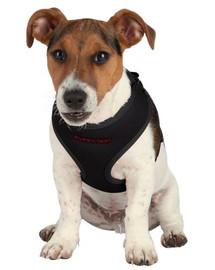 Trixie pavadėlis su petnešomis šuniukams 33-47 cm / 10 mm juodas