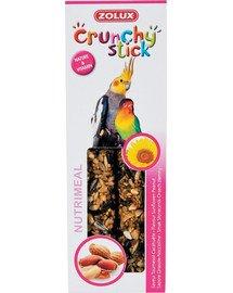 Zolux Crunchy Stick burbuolės didelioms papūgoms su saulėgrąžomis ir žemės riešutais 115 g