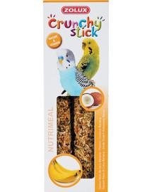 Zolux Crunchy Stick burbuolės papūgoms su kokosais ir bananais 85 g