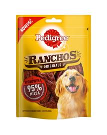 PEDIGREE Ranchos skanėstai su 95% jautienos 7*70 g