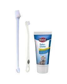 Trixie rinkinys dantų valymui katėms