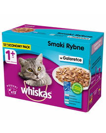 WHISKAS Adult Fish Selection konservai 4*12x100 g