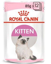 Royal Canin Kitten Instinctive in Gravy 12x85 g - konservuotas ėdalas