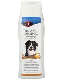 Trixie šampūnas su natūraliu aliejumi 250 ml