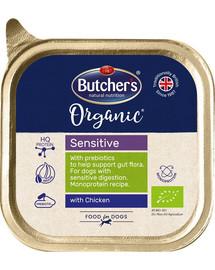 BUTCHER'S Organic Sensitive vištienos monoproteinų šunų maistas  150 g
