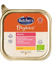 BUTCHER'S Organic Beauty kalakutienos monoproteinų kačių maistas 85 g
