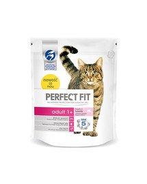 PERFECT FIT Adult 1+ Maisto gausu lašiša 750 g