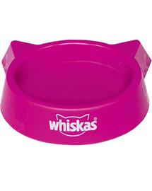 WHISKAS Plastikinis rožinis kačių dubuo