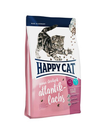 HAPPY CAT Supreme Junior Sterilised su atlantine lašiša 10 kg