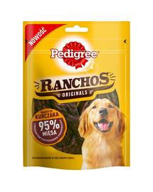 PEDIGREE Ranchos skanėstai su 95% vištienos 7*70 g