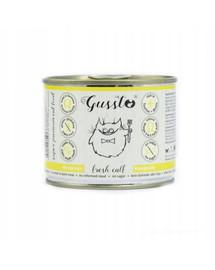 GUSSTO Cat Fresh Calf šlapias kačių maistas 200 g