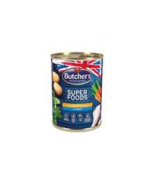 BUTCHER'S Superfoods Dog Tripe su vištienos paštetu 400 g