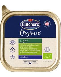 BUTCHER'S Organic Light jautienos monoproteinų šunų maistas 150 g