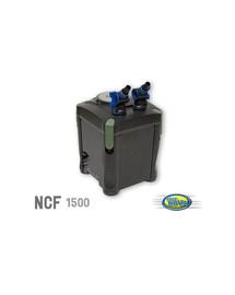 AQUA NOVA Išorinis filtras, 1500 litrų per valandą, 4 filtravimo etapai