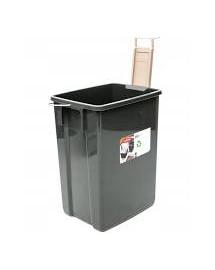 CURVER 10l biologinių žaliųjų atliekų konteineris juodas