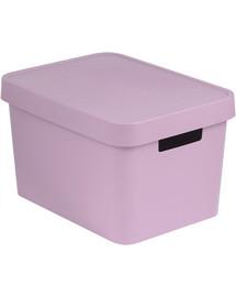 CURVER INFINITY 17L krepšys su dangčiu rožinis