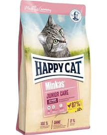 HAPPY CAT Minkas Junior Care vištiena10 kg