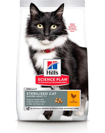 HILL'S Science Plan Feline Mature Adult sterilised cat chicken 3 kg
