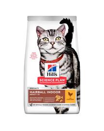 HILL'S Science Plan Feline Adult Hairbal&Indoor New 3 kg