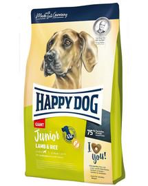 HAPPY DOG Junior Giant Ėriena su ryžiais 4 kg