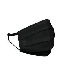 HEXA HEALTH Apsauginė dvigubo sluoksnio juodos medvilnės kaukė