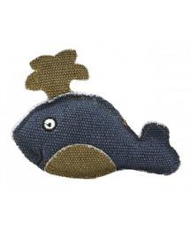 BARRY KING Banginis iš tvirtos tamsiai mėlynos medžiagos 11 x 9 cm