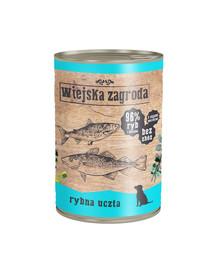 WIEJSKA ZAGRODA Žuvų šventė 400 g maistas be grūdų