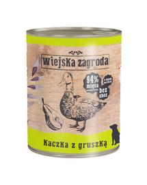 WIEJSKA ZAGRODA Antiena su kriaušė 800 g maistas be grūdų