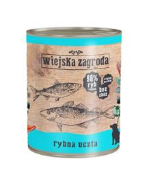 WIEJSKA ZAGRODA Žuvų šventė 800 g maistas be grūdų
