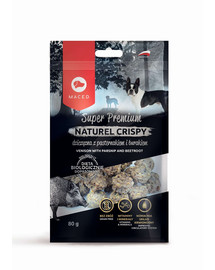 MACED Super Premium Naturel Crispy Elniena su pastarnokai  80 g