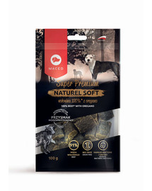 MACED Super Premium Naturel Soft  jautiena su raudonėlių 100 g