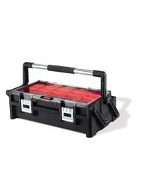 """CURVER įrankių dėžė 22 """"CANTILEVER juoda / raudona"""