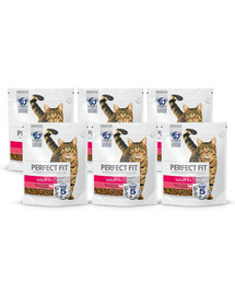 PERFECT FIT Cat 6x750 g Adult beef multi