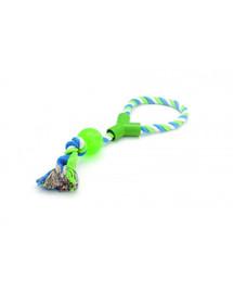 COMFY žaislas virvė su kamuoliu ir rankena 60 cm