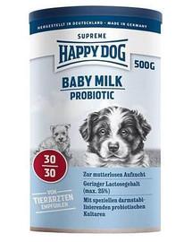 Happy Dog Puppy Milk Probiotic pieno pakaitalas šuniukams 500 g