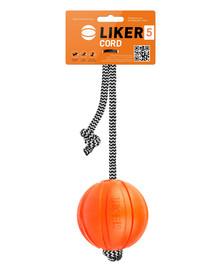 LIKER CORD Dog toy kamuolys ant virvelės šuniui 7 cm