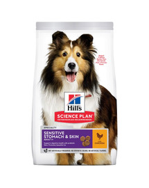 HILL'S Canine Adult Sensitive Stomach&Skin 14 kg
