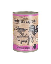 WIEJSKA ZAGRODA Mėsos šventė šuniukams 800 g