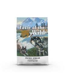 TASTE OF THE WILD Pacific Stream Puppy 5,6 kg su rūkyta lašiša