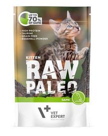 VETEXPERT RAW PALEO Kitten game 100 g šlapias maistas kačiukams
