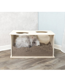 TRIXIE smėlio dėžė triušiams 58 x 30 x 38 cm