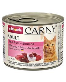 Animonda Carny Adult su jautiena, kalakutiena ir krevetėmis 200 g