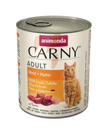 Animonda Carny Adult su jautiena ir vištiena 800 g